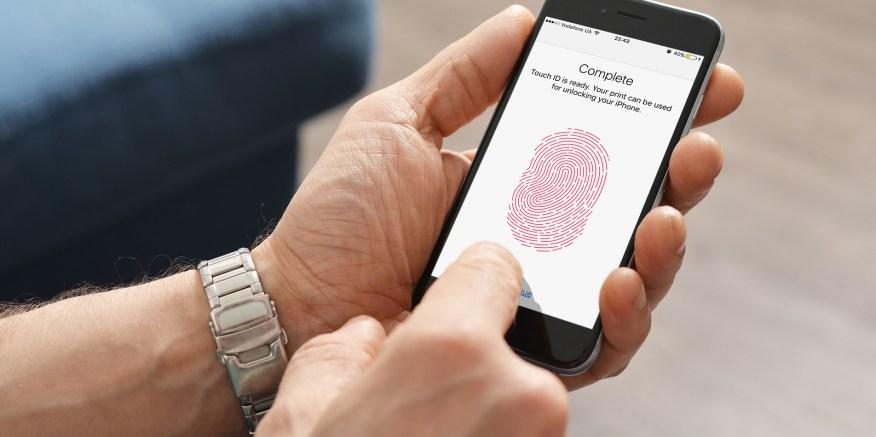 Resultado de imagen para iphone Touch ID