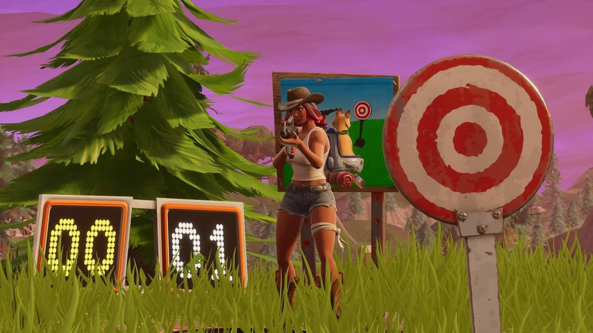 Fortnite Shooting Gallery Locations Where To Find Them