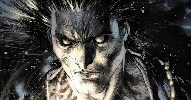 Panel from Sandman Vertigo Comic