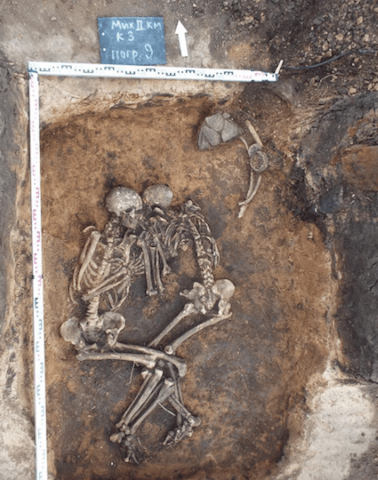 scheletri, peste