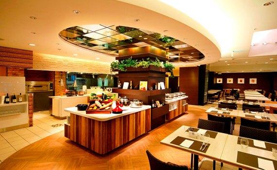ANAクラウンプラザホテル福岡 クラウンカフェ