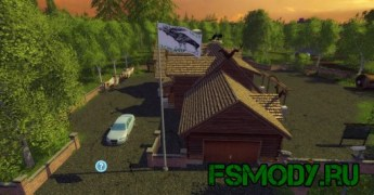 Карта «Elchland» для Farming Simulator 2015