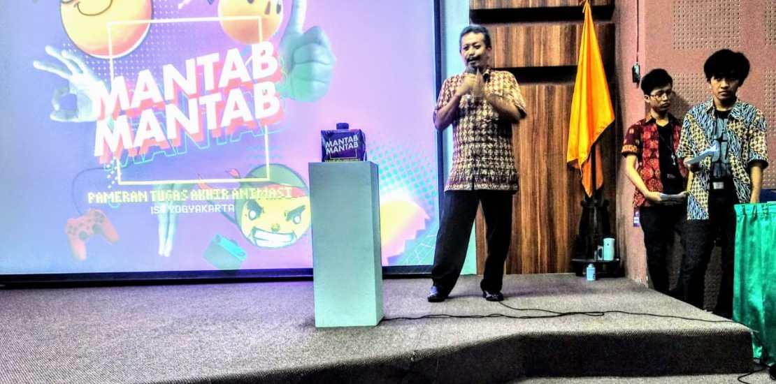 Pembukaan Pameran dibuka oleh Dekan FSMR ISI Yogyakarta