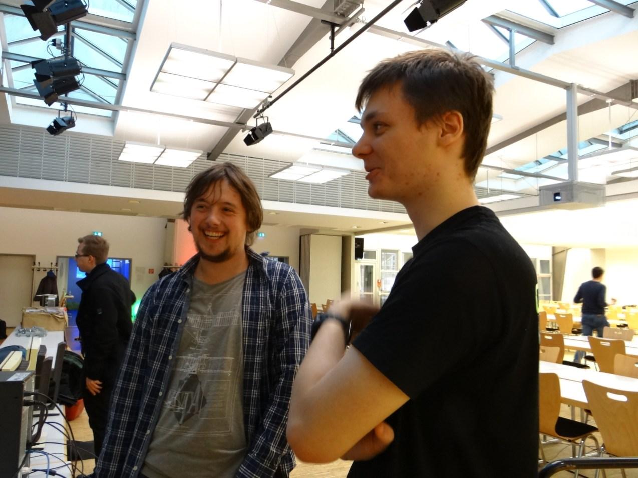 Unsere Freunde der CampusLAN Chemnitz!