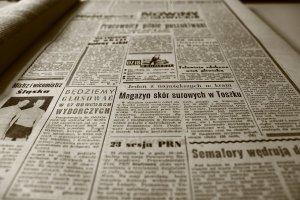 old newspaper, newspaper, retro