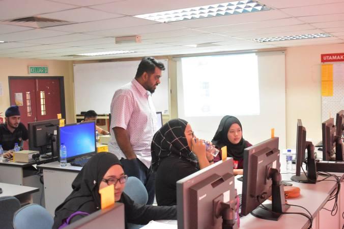 Kursus ICT percuma Animasi di Politeknik Behrang