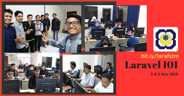 Kursus Laravel FSTM Nov2018