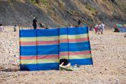 British sunbathing