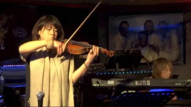 石井夕紀バイオリン演奏