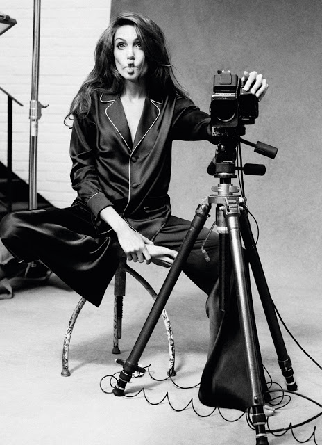 Angelina Jolie Self-portraits with a Hasselblad (2)