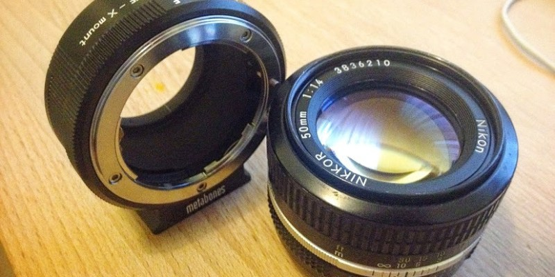 Metabones Adapter and Nikon 50mm f/1.4