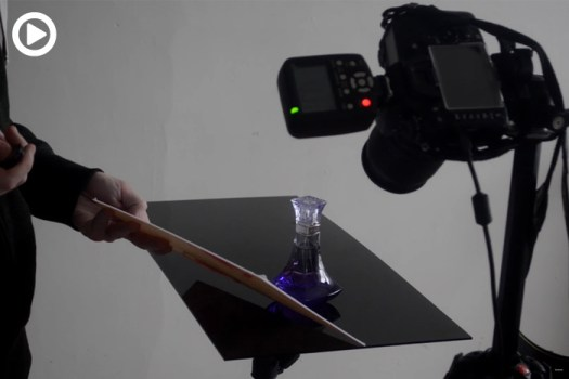 Shooting a Perfume Bottle Product Photo With Just One Speedlight