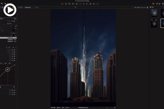 How to Make Your Cityscapes More Dramatic Using Capture One