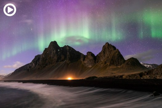 Precise Prediction of the Auroras