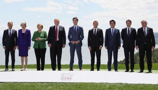 Photo of German Chancellor Angela Merkel With President Trump at G7 Summit Goes Viral