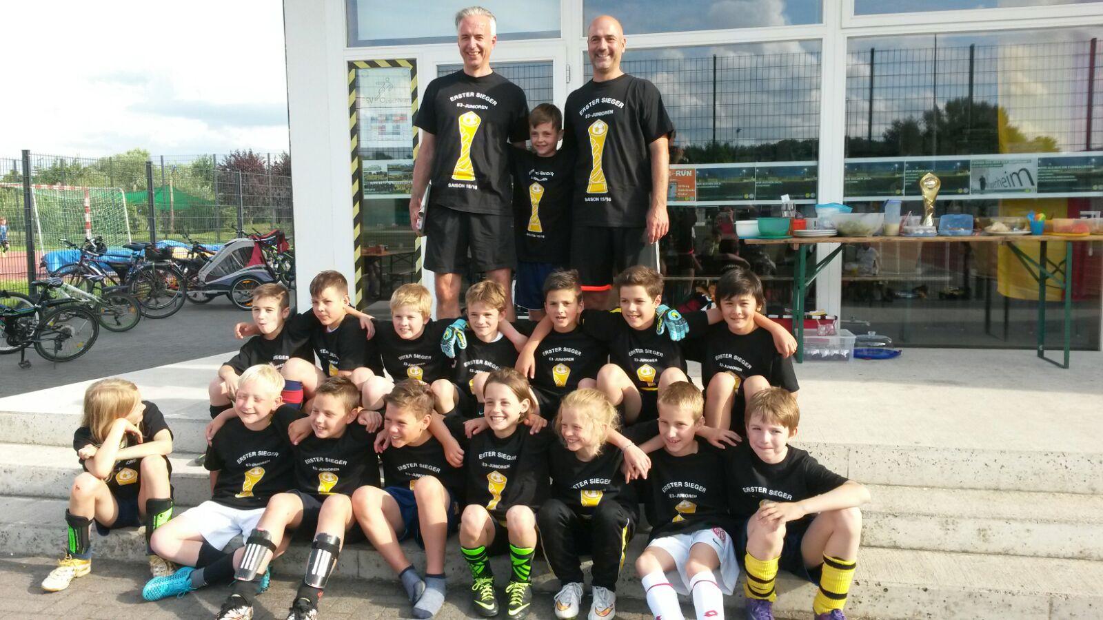 E-Jugend Sieger 2015-16