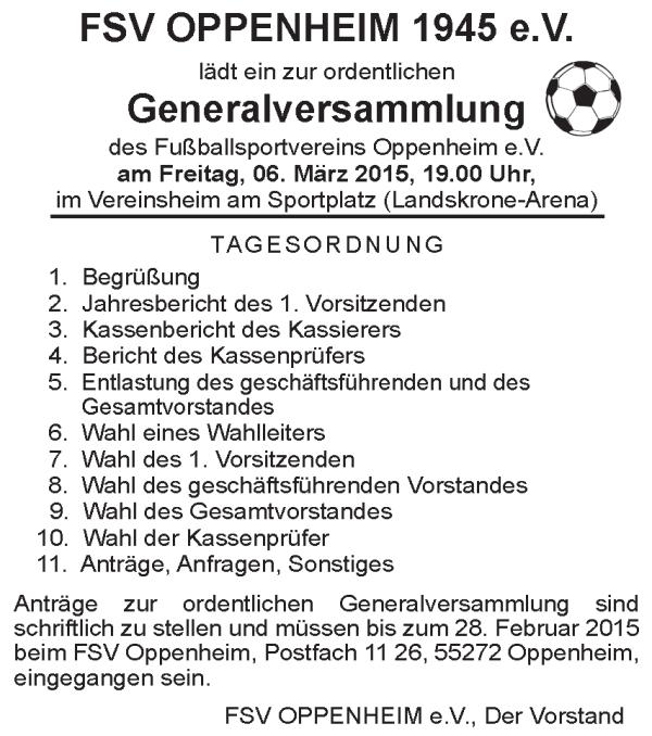 Generalversammlung2015