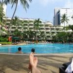 シンガポールの5つ星ホテル「シャングリラホテル」でのんびりリフレッシュ☆