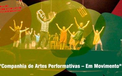 """Confirmada no Fórum """"Companhia de Artes Performativas – Em Movimento"""""""