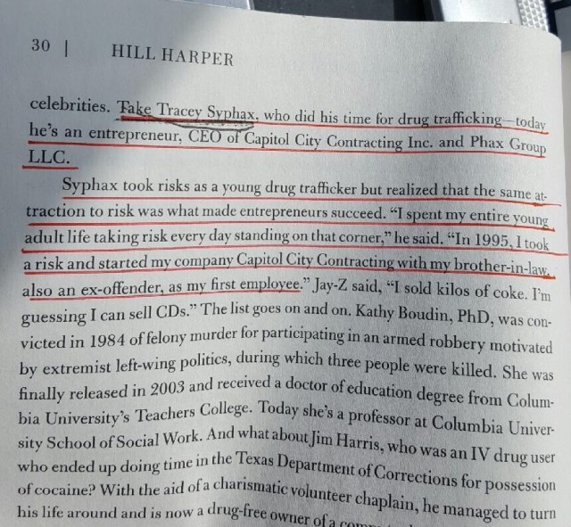 Hill Harper Speaks About Tracy Syphax