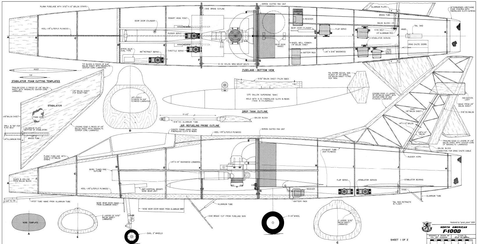 F 100 Super Sabre 1 8th Build 70