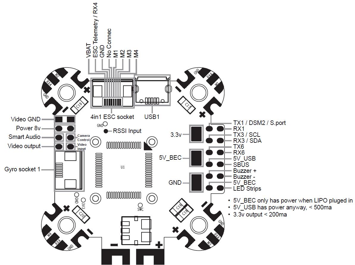 Fpv Gps Guided Kraken Build Wiring Help For Rxsr Fc