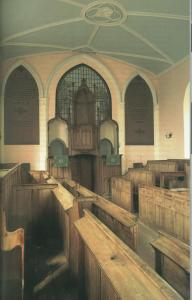 Reformation church without icons