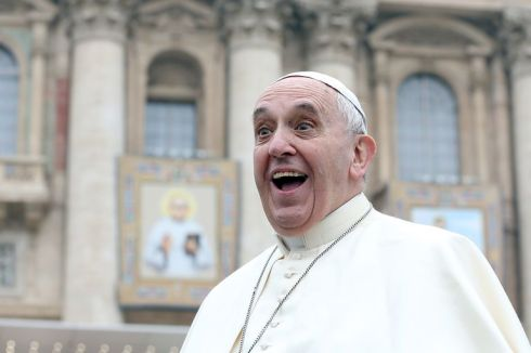 Image result for images of crazy pope francis i