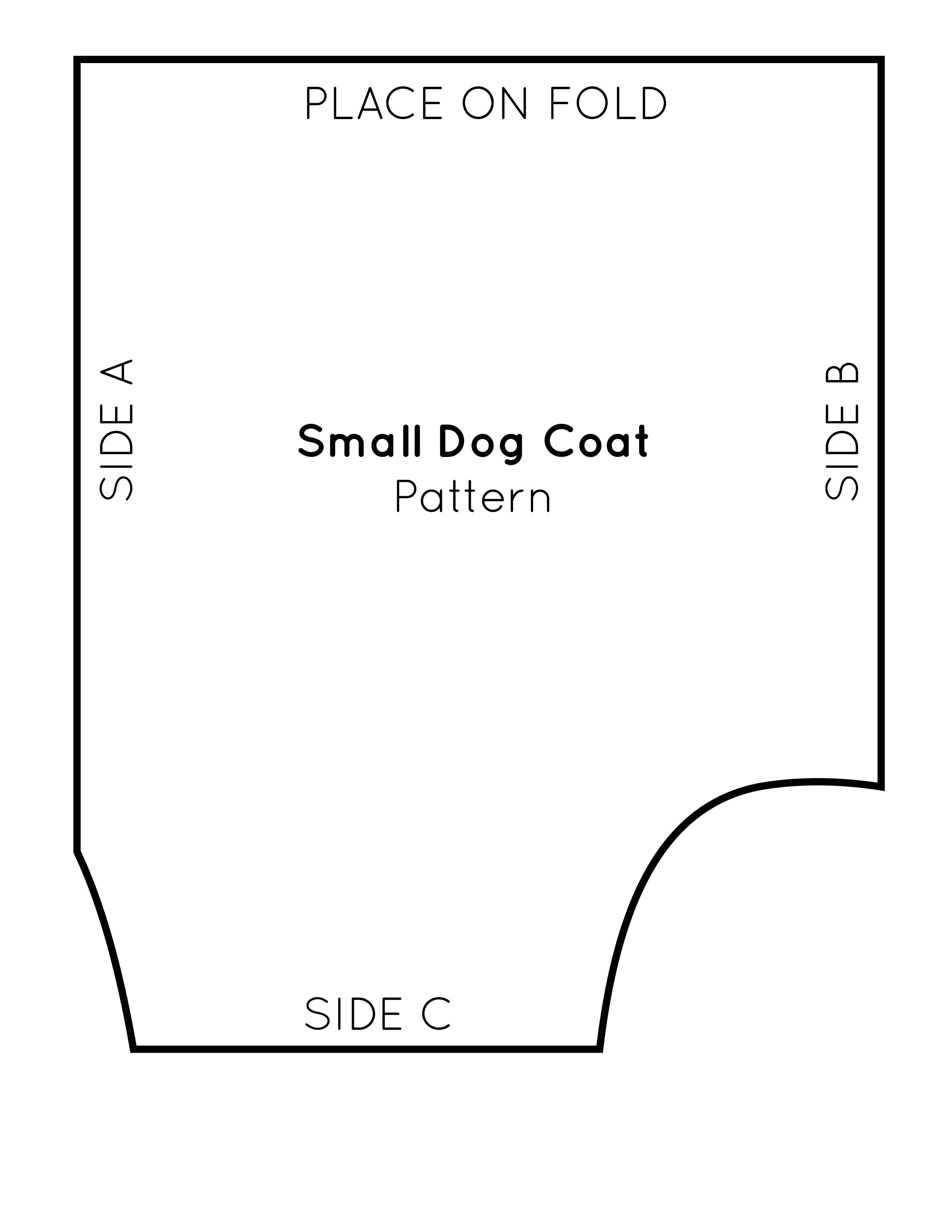 Free Sewing Pattern For A Warm Amp Weatherproof Dog Coat