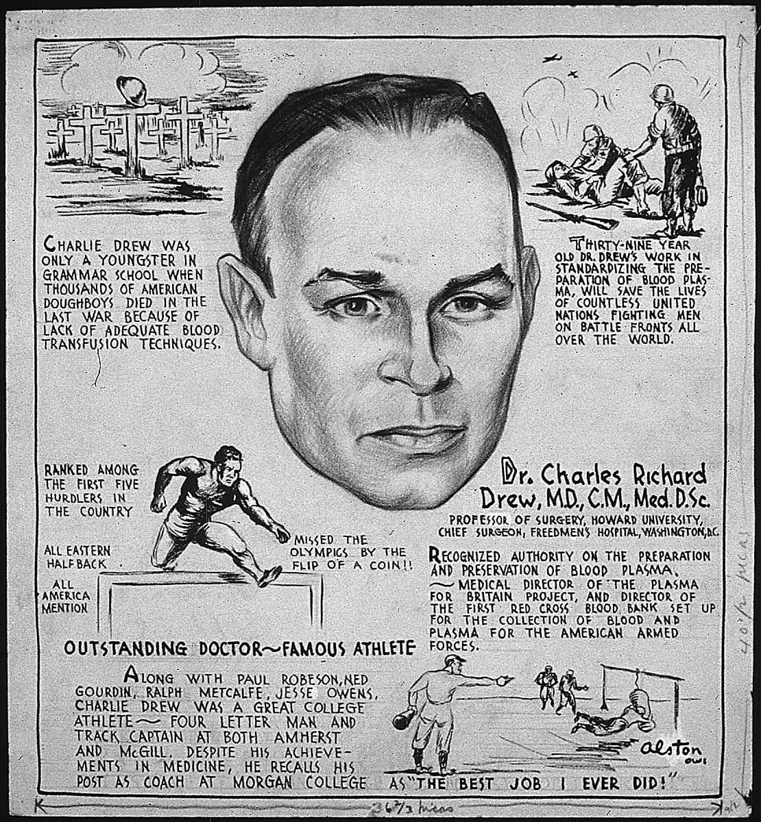 Charles Drew Inventor Of The Blood Bank