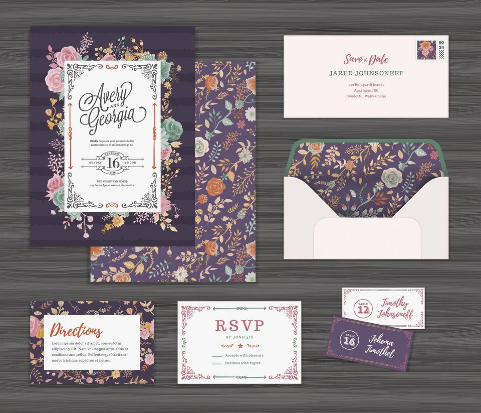 Bridal Shower Invitations Examples