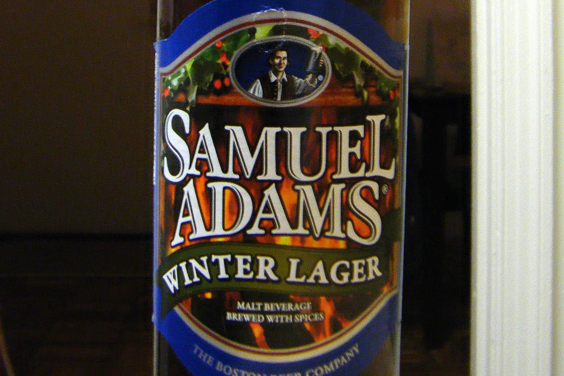 Samuel Adams Winter Lager Beer Tasting Notes And Review