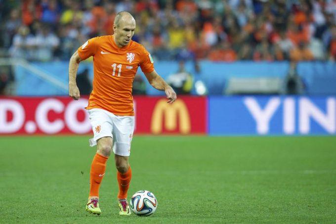 Arjen Robben Netherlands