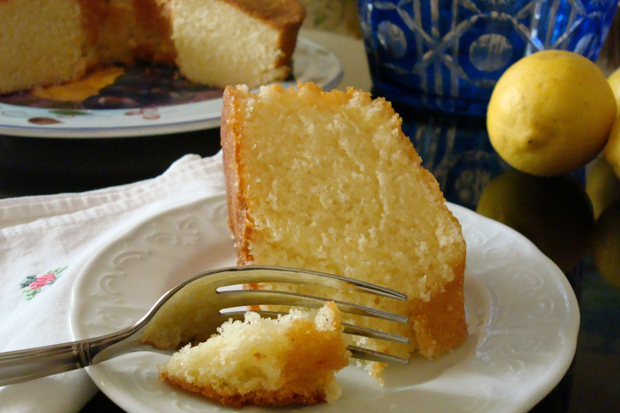 Easy Moroccan Lemon Cake Meskouta Recipe