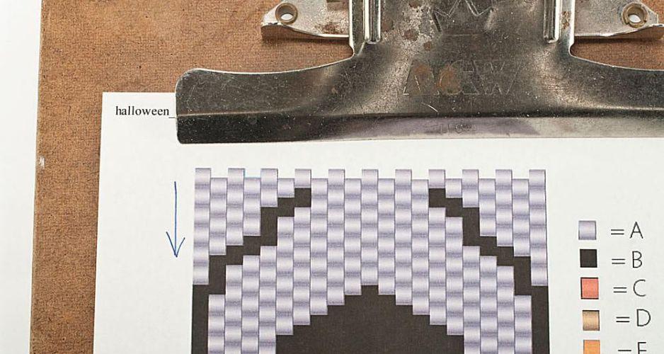 How To Follow An Odd Count Peyote Stitch Pattern Cha