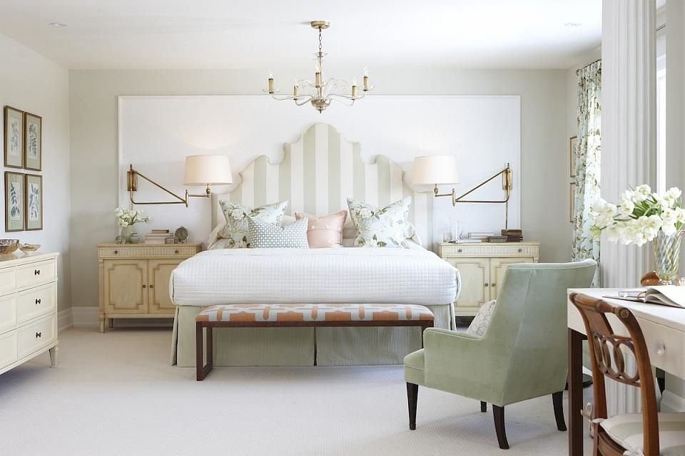 Decorate Your Bedroom In The New Traditional Style