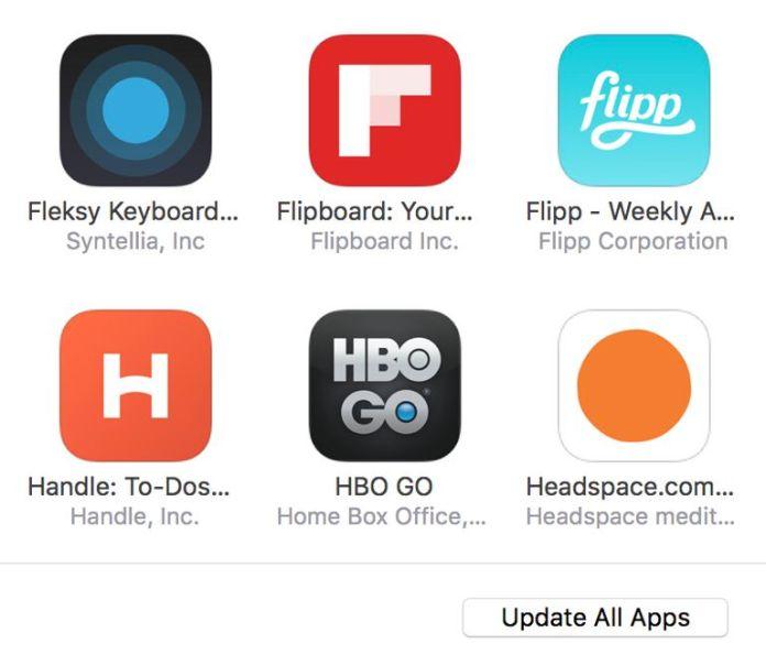 Install apps via itunes