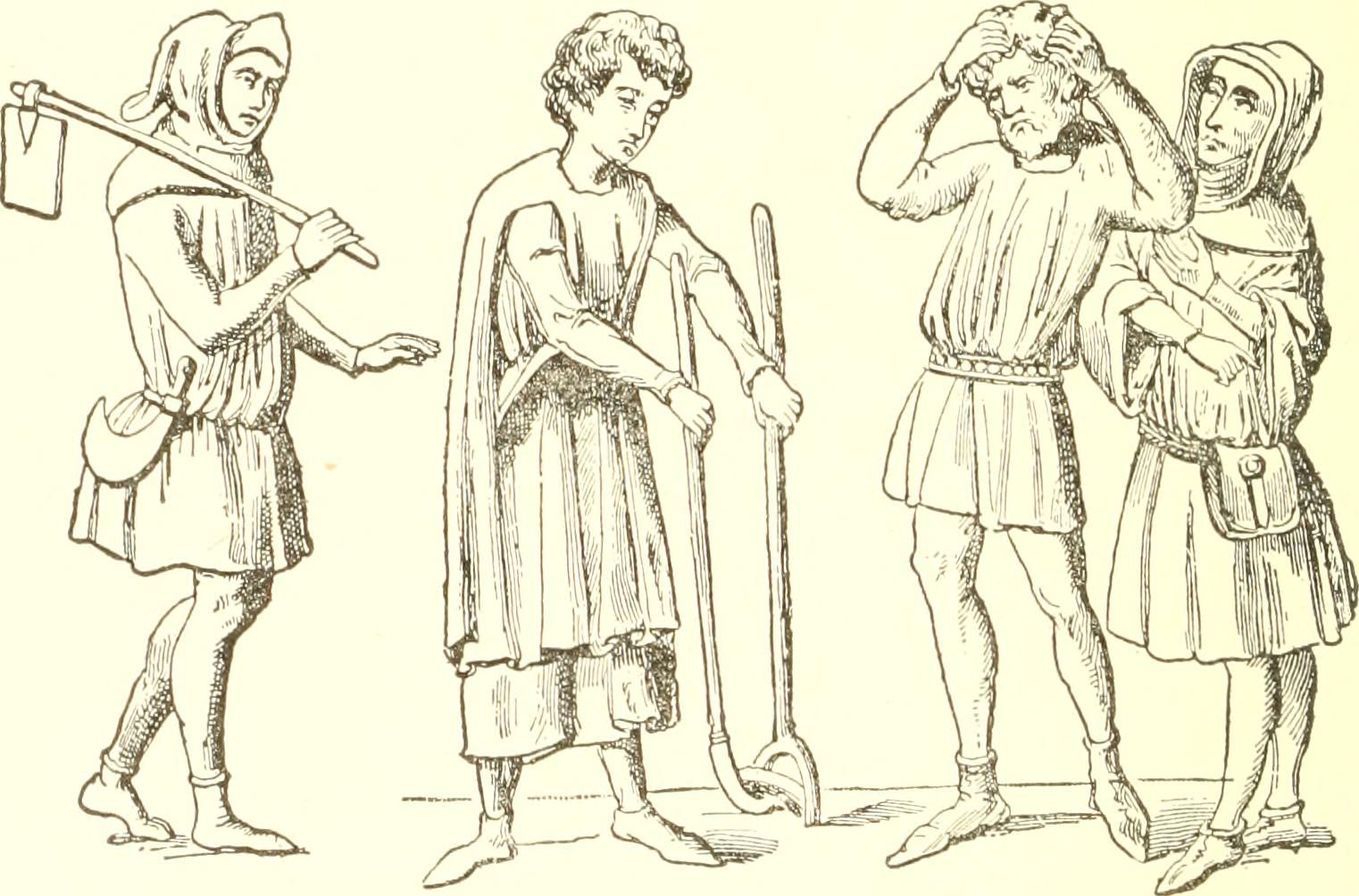 What Peasants And Laborers Wore In The Me Val Ages