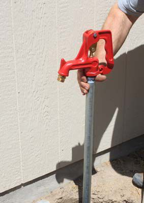 How To Replace A Frost Proof Yard Hydrant
