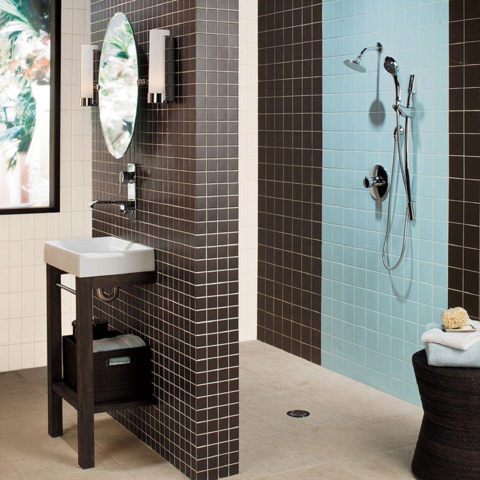 Best Kitchen Gallery: Tile Picture Gallery Showers Floors Walls of Bathroom Ceramic Tile Designs  on rachelxblog.com