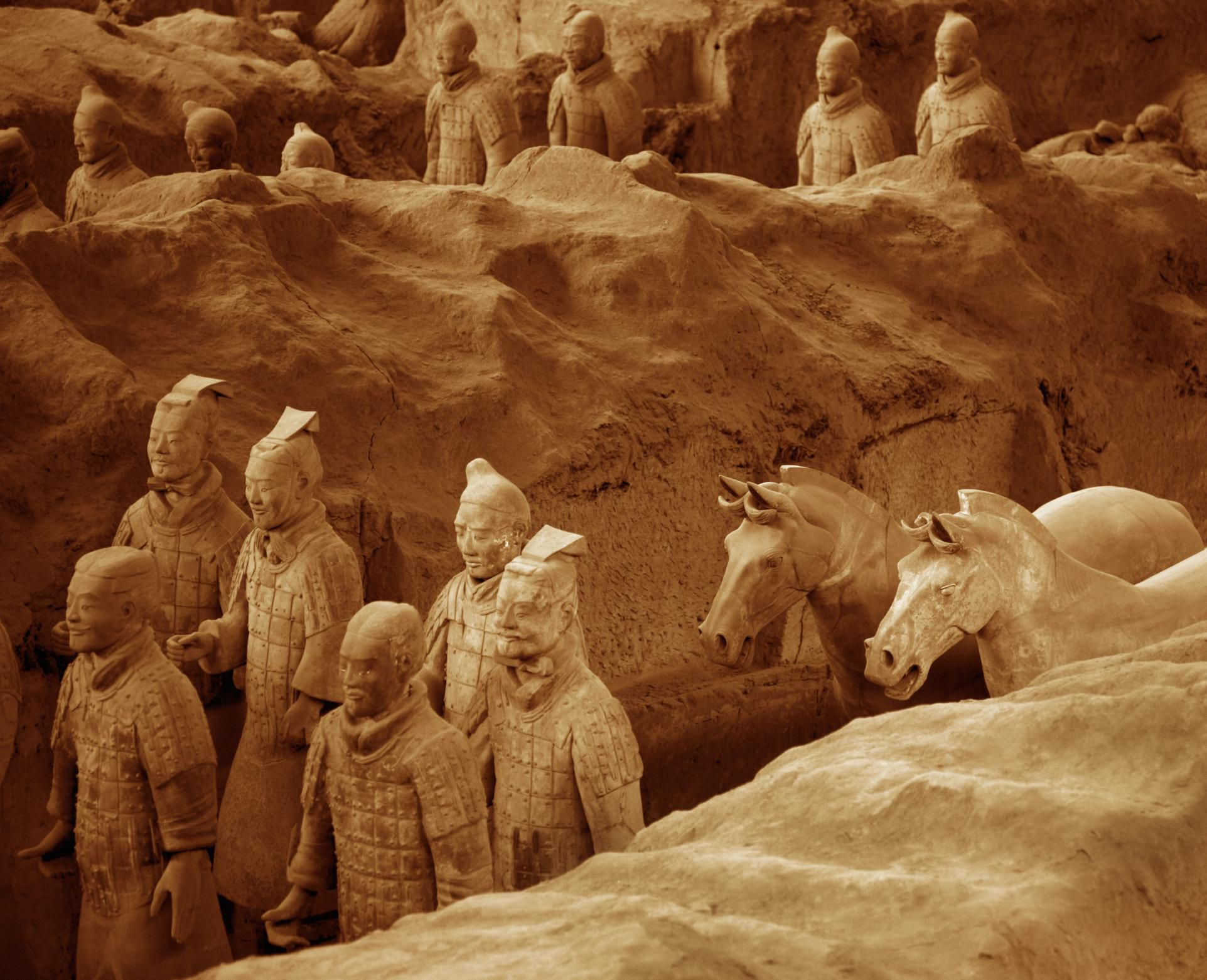 When Was The Terracotta Army Found