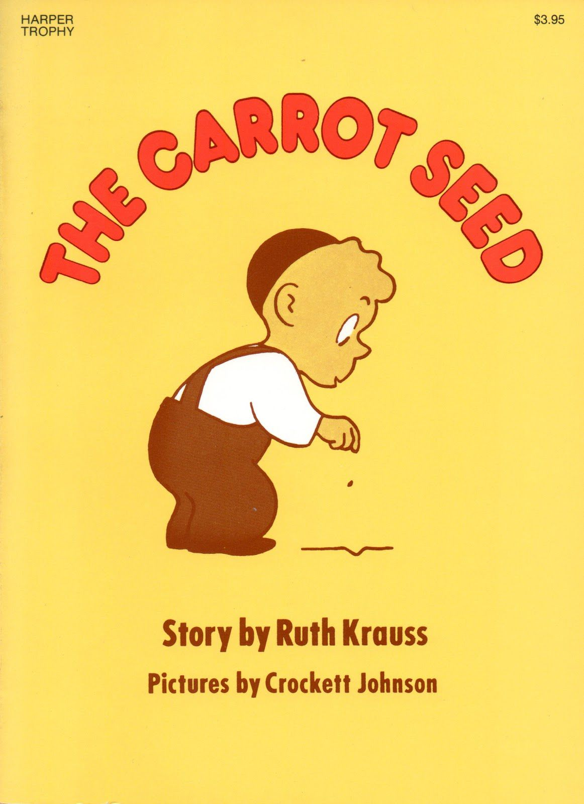 The Carrot Seed Classic Children S Picture Book
