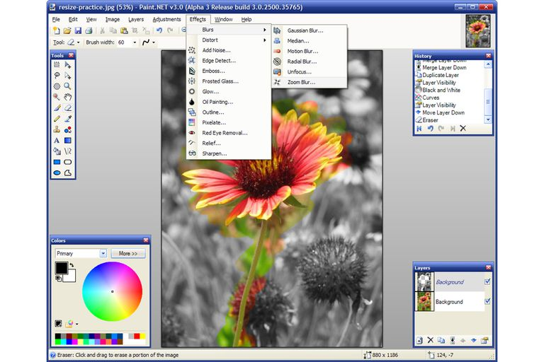 Free photo editing software