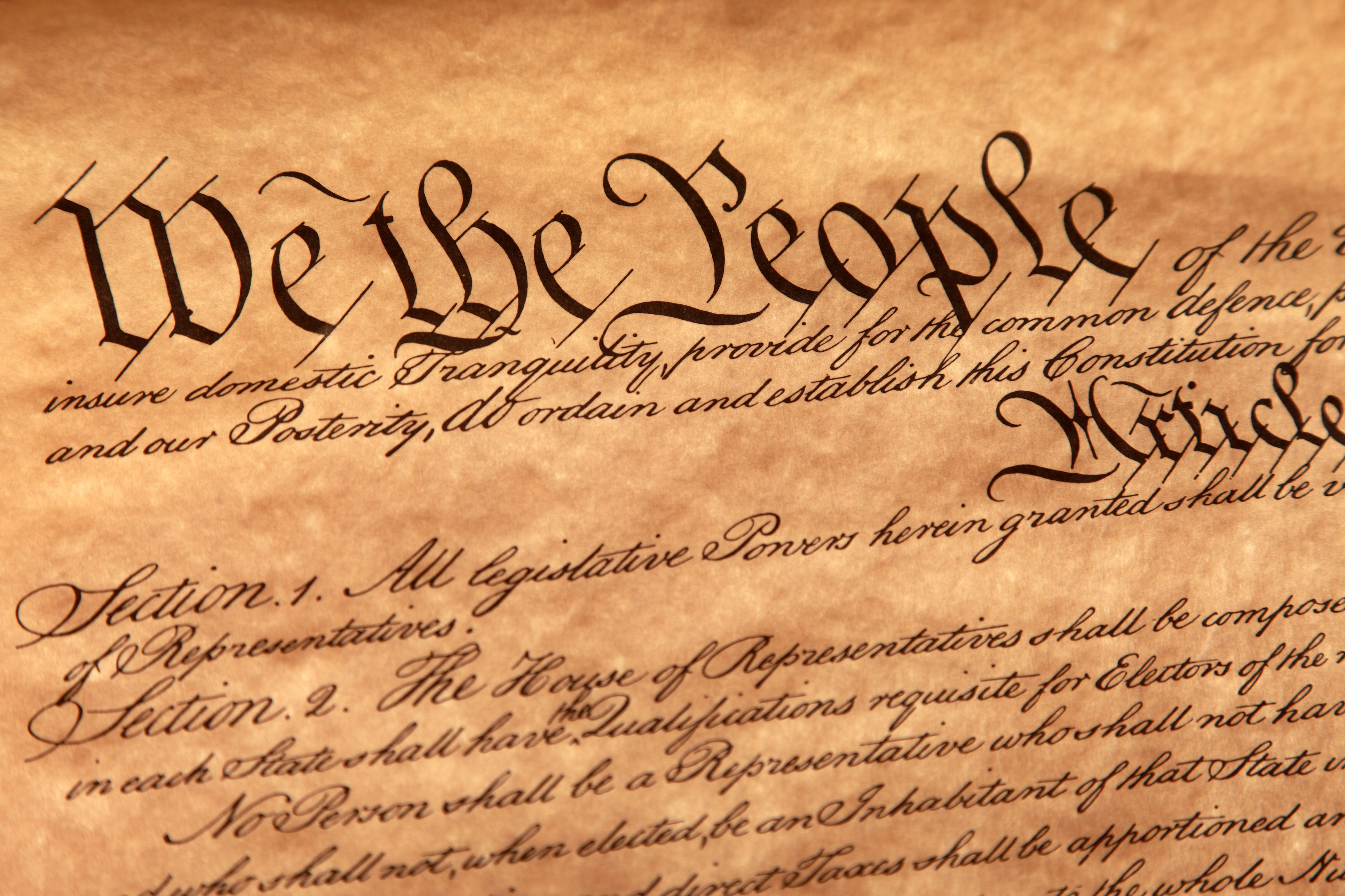 Introducing Children To The U S Constitution Through The