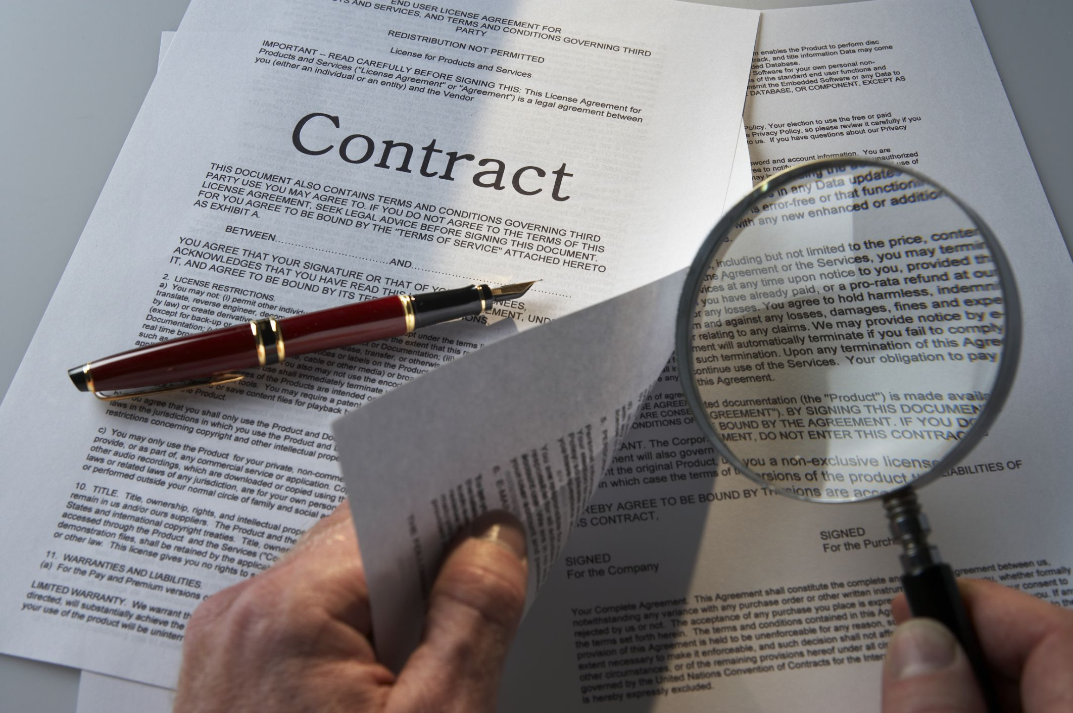5 Tips For Reading A Business Contract