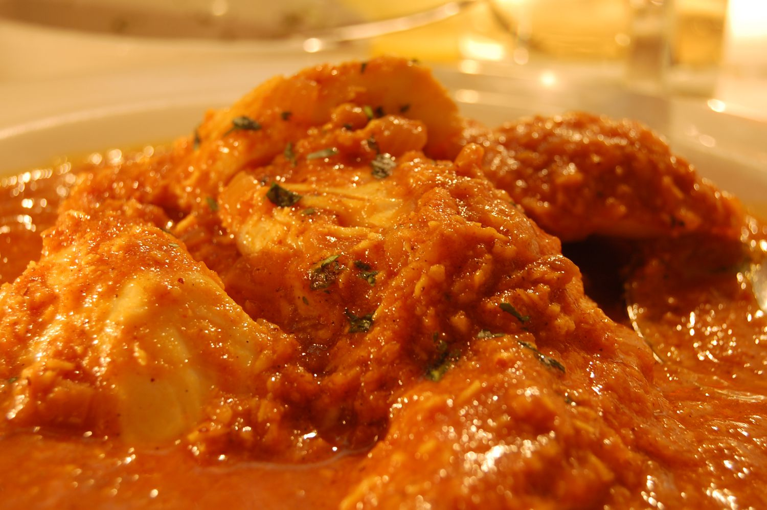Fish Curry Recipe Served With Rice
