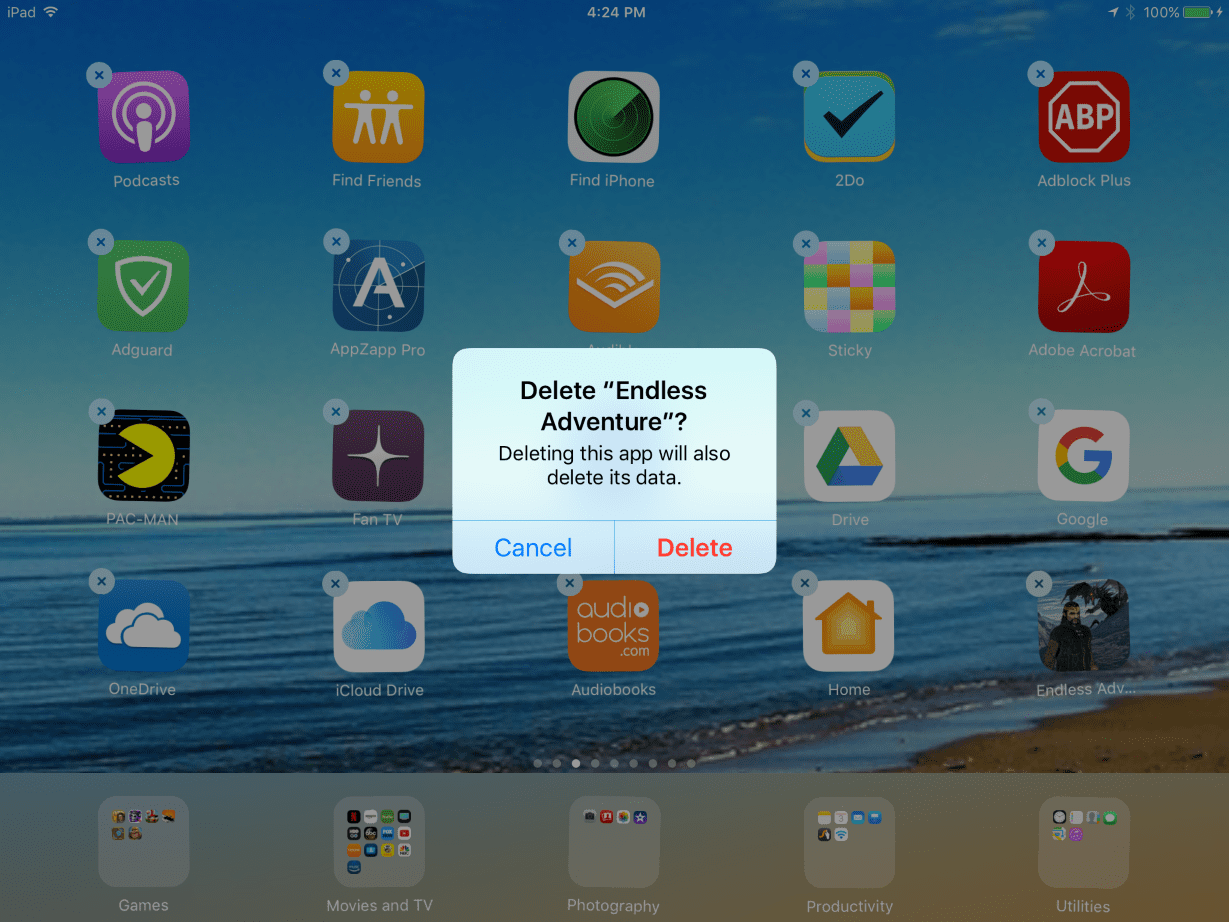 How To Delete An Application From Your Ipad