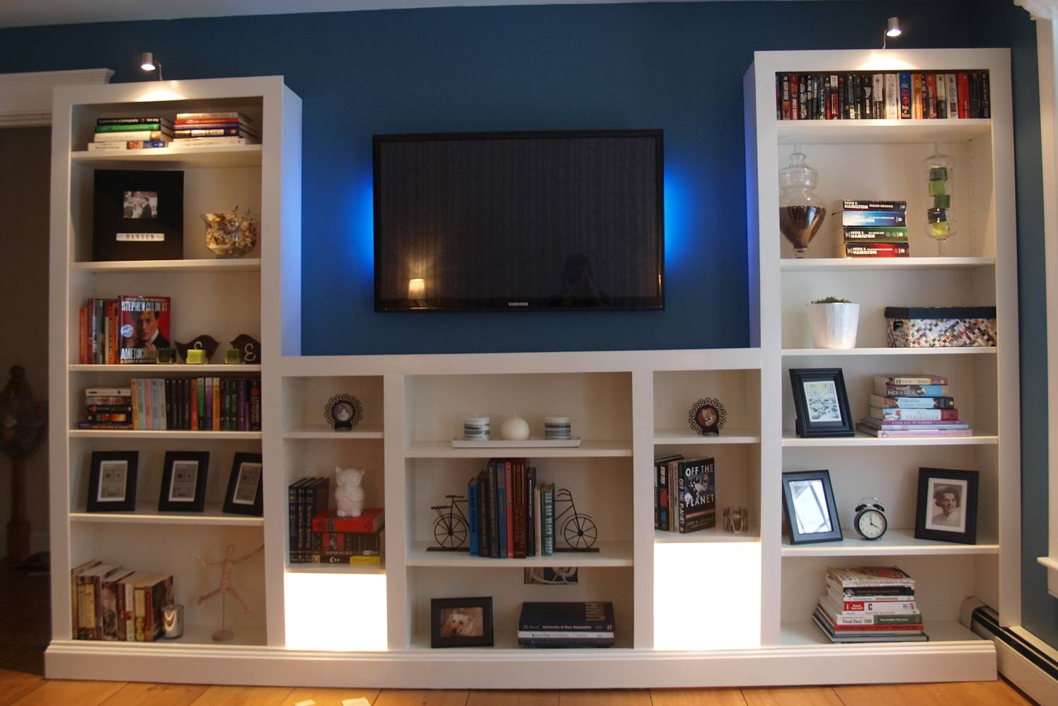ikea hacks: the best 23 billy bookcase built-ins ever
