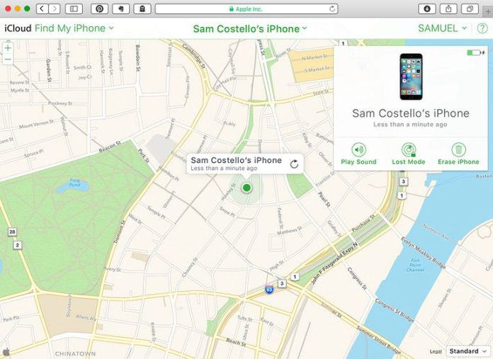 Use Find My iPhone