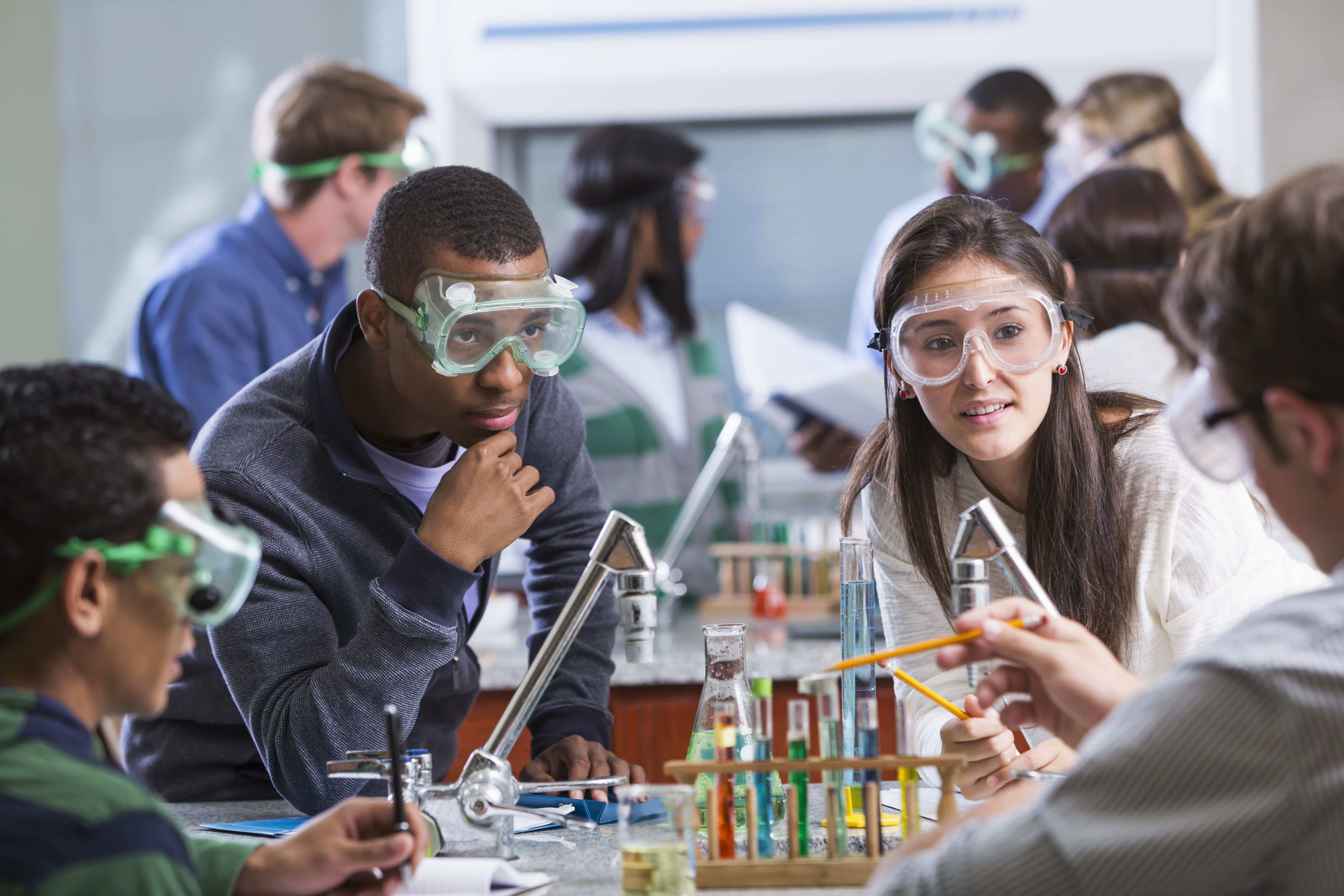 How Much High School Science Do You Need For College